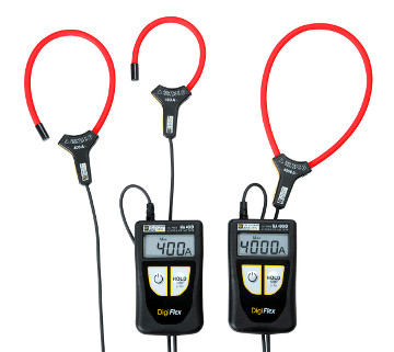 Amperímetros digitales TRMS con sensor flexible