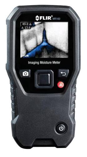 """Medidor de humedad y cámara termográfica """"dos en uno"""""""