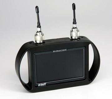Receptor monitor y grabador COFDM