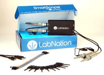 osciloscopio USB compacto de código abierto