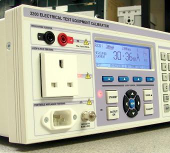 Calibradores de test eléctrico