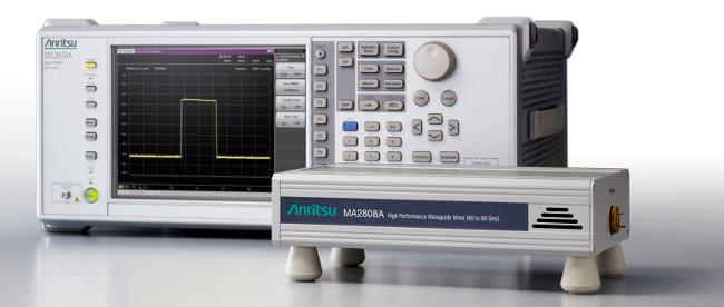 Análisis de espectro de onda milimétrica