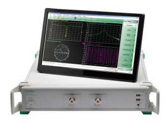Analizadores de redes vectoriales hasta 43,5 GHz