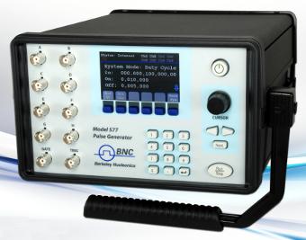 Generador de retardo y pulso digital multicanal