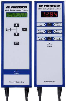 Analizadores portátiles de capacidad de batería SLA