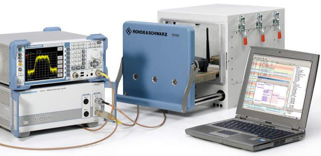 Cajas apantalladas para pruebas de dispositivos inalámbricos