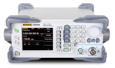 Generadores de señal RF de 9 kHz a 3 GHz