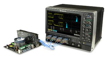 Osciloscopios con soporte para HDMI