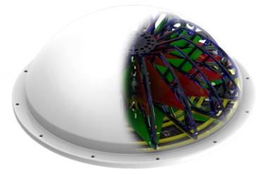 antena isotrópica panorámica