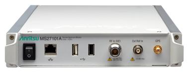 Monitor remoto de espectro