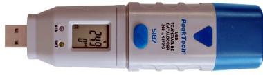 Data logger de temperatura y humedad