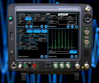 Equipo para pruebas de radio digital