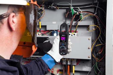 Medidor de tenaza con termografía