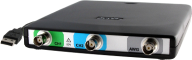 Osciloscopios USB con funciones