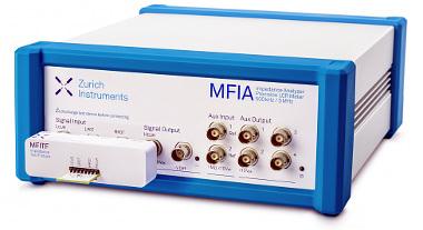Analizador de impedancia para test