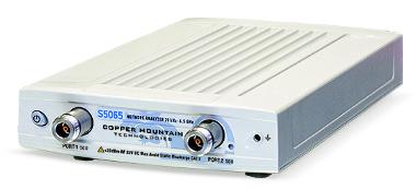 Analizador de redes vectorial hasta 6.5 GHz y 50 Ω
