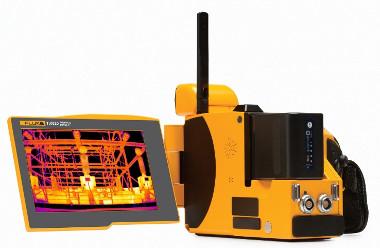 """Cámaras infrarrojas con pantalla de 5,6"""""""