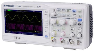 Osciloscopio DSO de 100 MHz