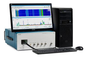 Análisis de señal de banda ancha