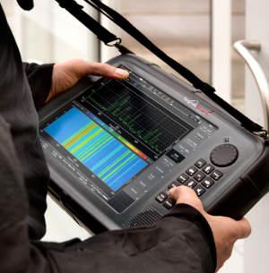 Analizador de espectro RF para redes móviles