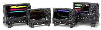 Osciloscopios de alta definición entre 200 MHz y 1 GHz