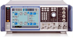 Generador de señal vectorial con test de transmisión