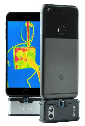 Cámaras de imagen térmica para Smartphones y Tablets