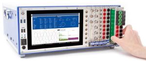 Analizador de potencia de señales mixtas
