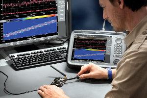 analizador de espectro portátil de 40 MHz