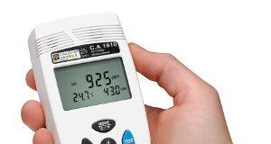 Registrador de calidad del aire interior