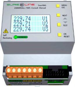 Analizador de redes para sonda Rogowski