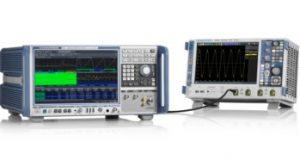 Analizador de señales y espectro con ancho de banda de 5 GHz