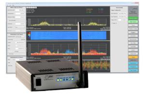 Analizadores de espectro con función de triger en tiempo real