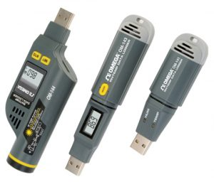 Registradores USB de temperatura y humedad