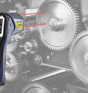 Termómetro láser dual de infrarrojos