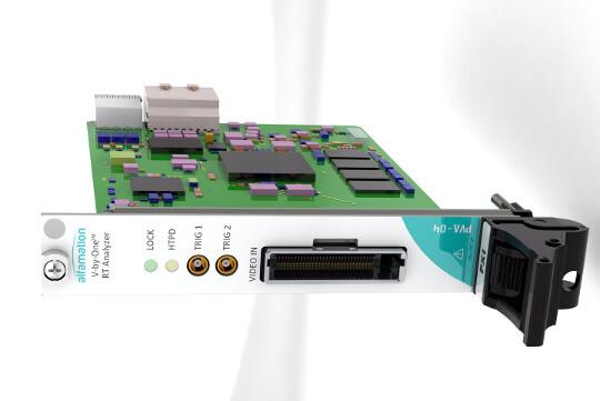 Placas analizadoras de vídeo basadas en PXIe