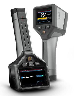 Detector e identificador de radioisótopos