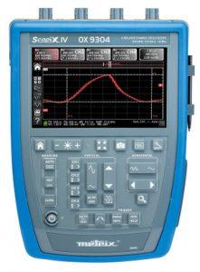 Osciloscopios digitales portátiles