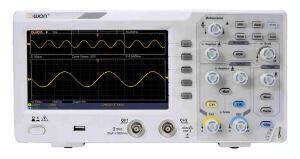 Osciloscopio de almacenamiento digital con interfaz para PC
