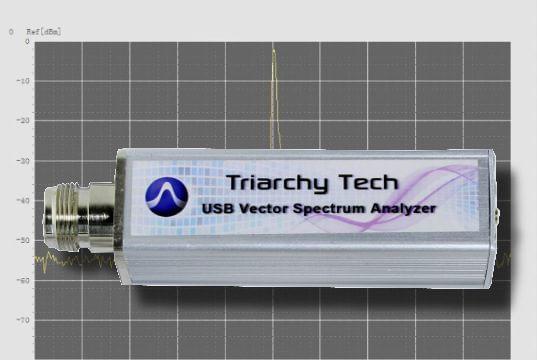 Analizador vectorial de espectro USB