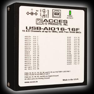 Módulos I/O analógicos USB de bajo coste