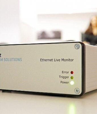 Monitor Ethernet para análisis de errores en tiempo real