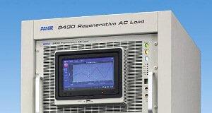 Cargas AC regenerativas de cuatro cuadrantes