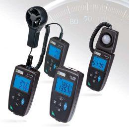 Familia de instrumentos para mediciones ambientales