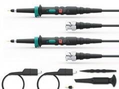 Sondas profesionales para osciloscopios