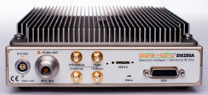 Analizador de espectro de 20 GHz