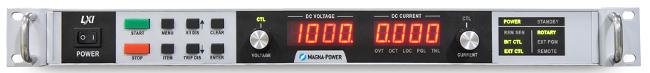 Fuentes de alimentación programables de 8 kW en 1U
