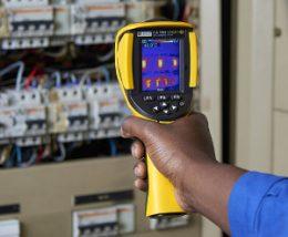 Cámara termográfica con autonomía de 9 horas