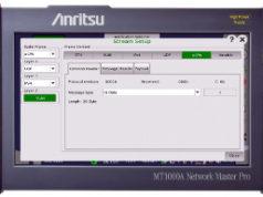 Analizador portátil para redes móviles 5G