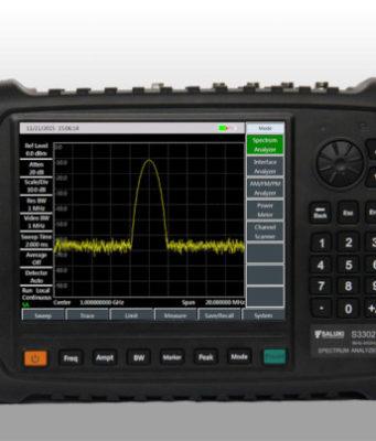 Analizador de espectro portátil